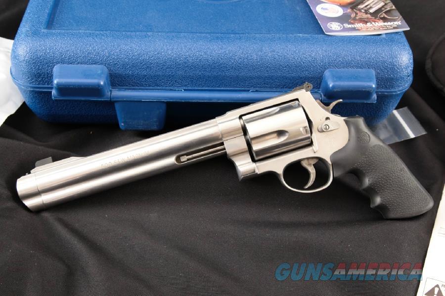 Brand New Smith & Wesson (S&W) Model 500 Magnum  Guns > Pistols > Smith & Wesson Revolvers > Full Frame Revolver