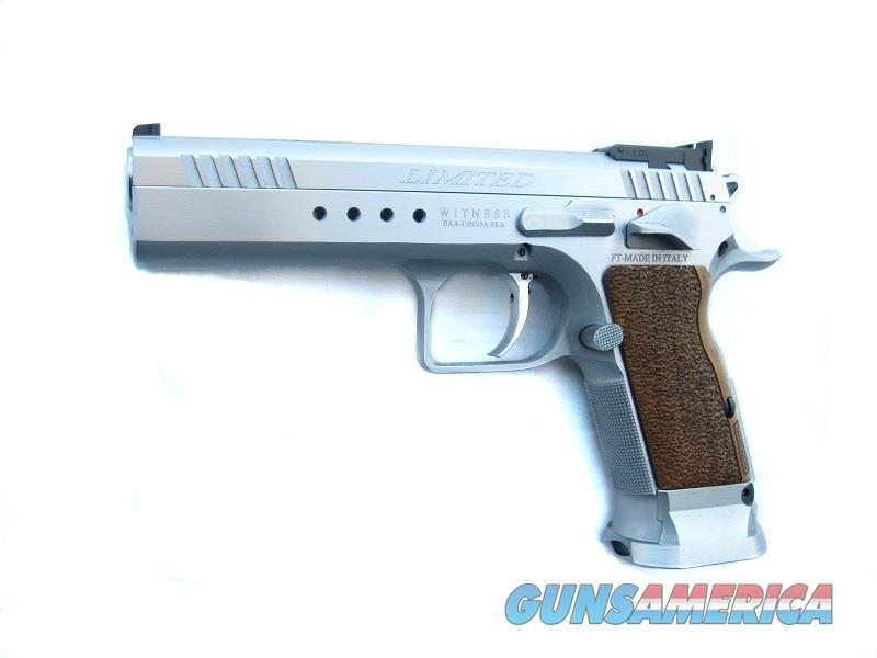 Brand New EAA Witness Elite Limited 10mm Tanfoglio 15 Round Hard Chrome  Guns > Pistols > EAA Pistols > Other