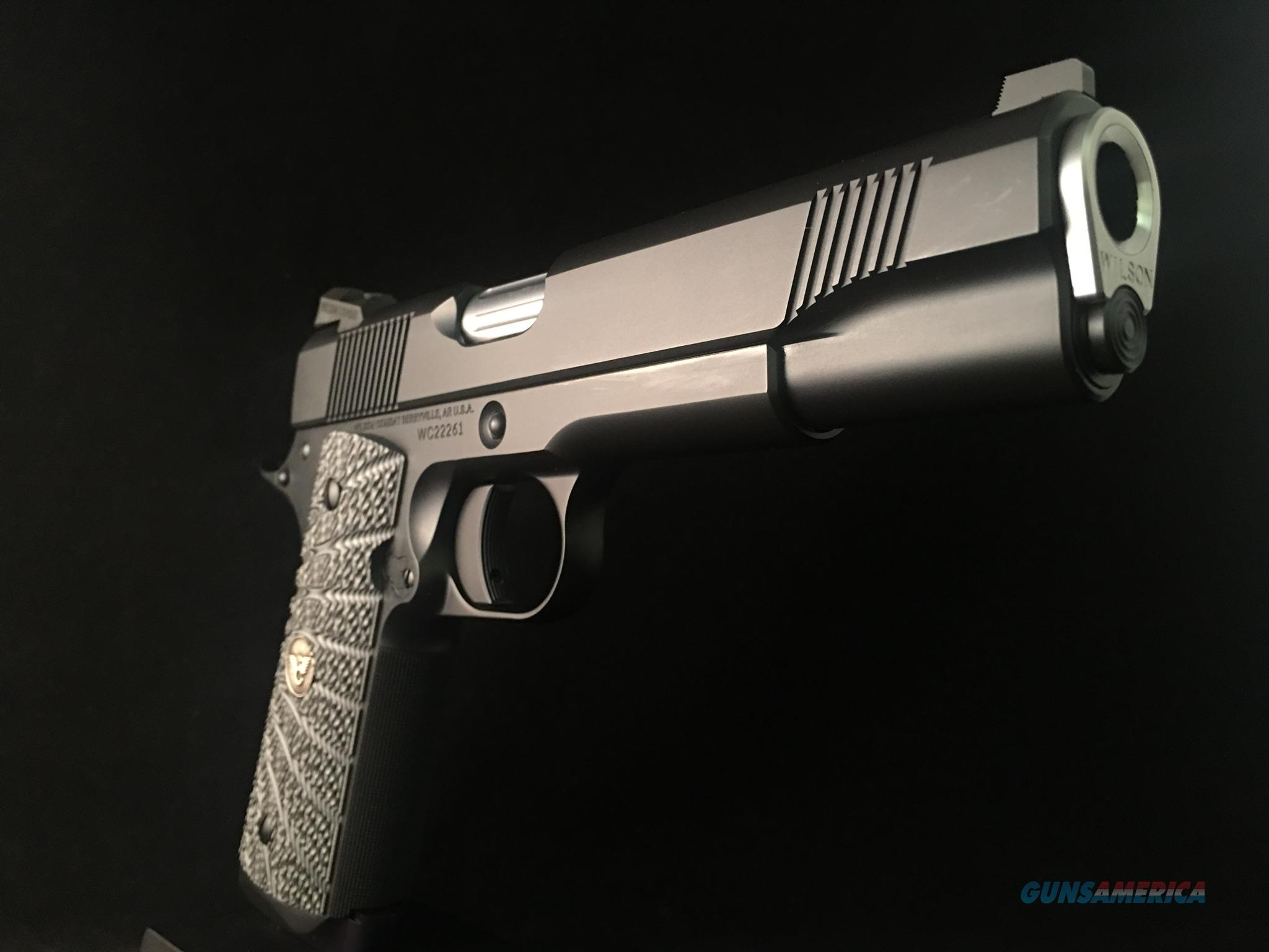 Wilson Combat CQB NIB, Custom Options  Guns > Pistols > 1911 Pistol Copies (non-Colt)