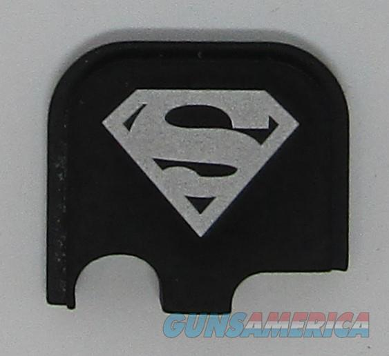 Laser Engraved Glock 43 Slide Plate Superman  Non-Guns > Gun Parts > Misc > Pistols
