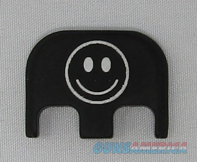 Laser Engraved Glock Full Size Back Plate Smiley Face  Non-Guns > Gun Parts > Misc > Pistols
