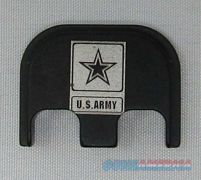 Laser Engraved Glock Full Size Back Plate Army  Non-Guns > Gun Parts > Misc > Pistols