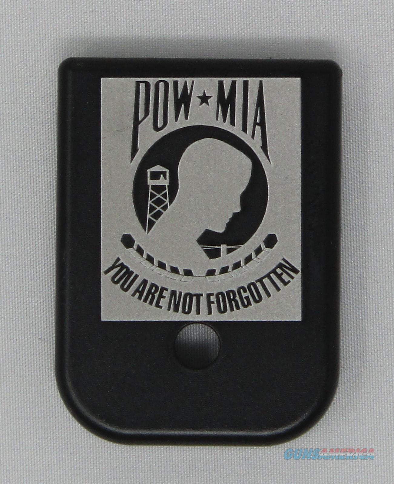 Laser Engraved Glock Mag Base Plate POW MIA  Non-Guns > Gun Parts > Misc > Pistols