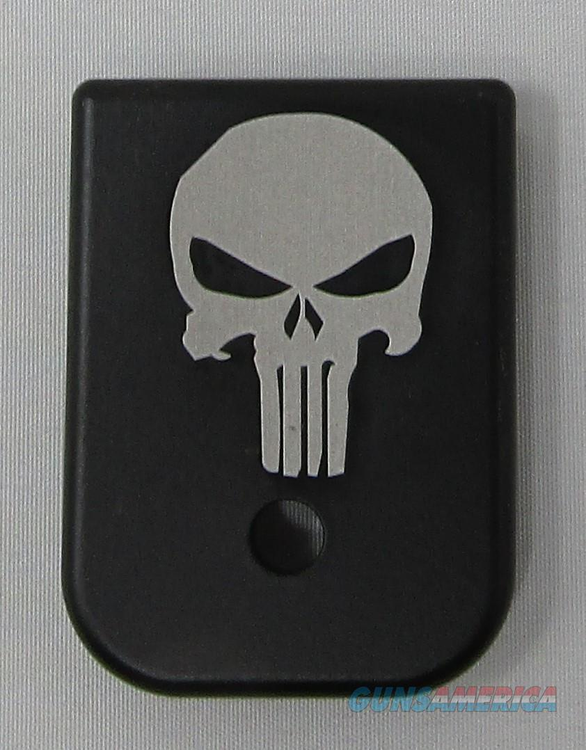 Laser Engraved Glock Mag Base Plate Punisher  Non-Guns > Gun Parts > Misc > Pistols