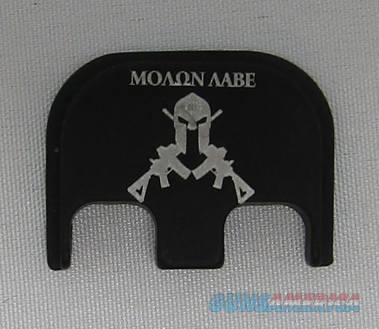 Laser Engraved Glock Back Plate Molon Laabe  Non-Guns > Gun Parts > Misc > Pistols