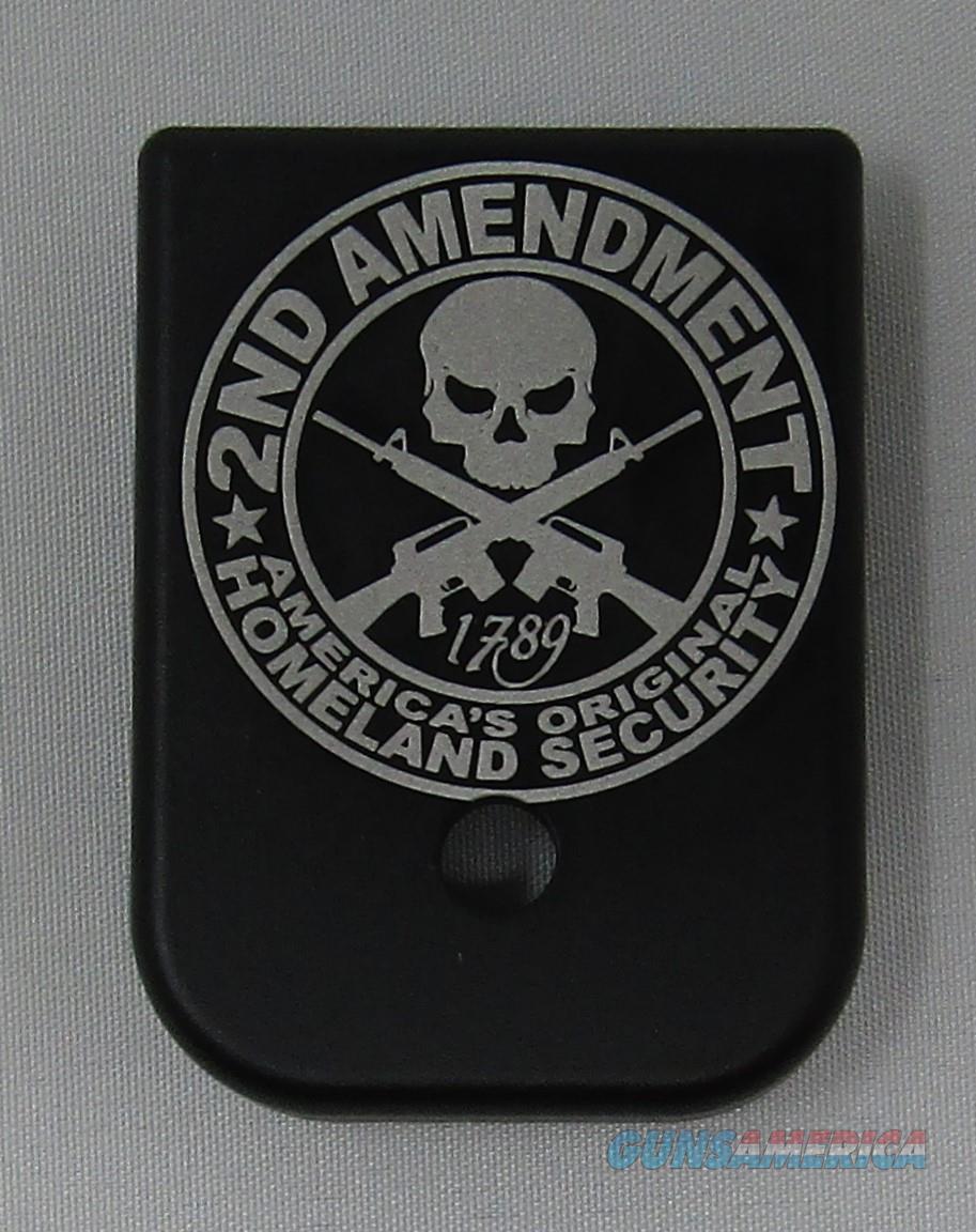 Laser Engraved Glock Magazine Base 2nd Amendment  Non-Guns > Gun Parts > Misc > Pistols
