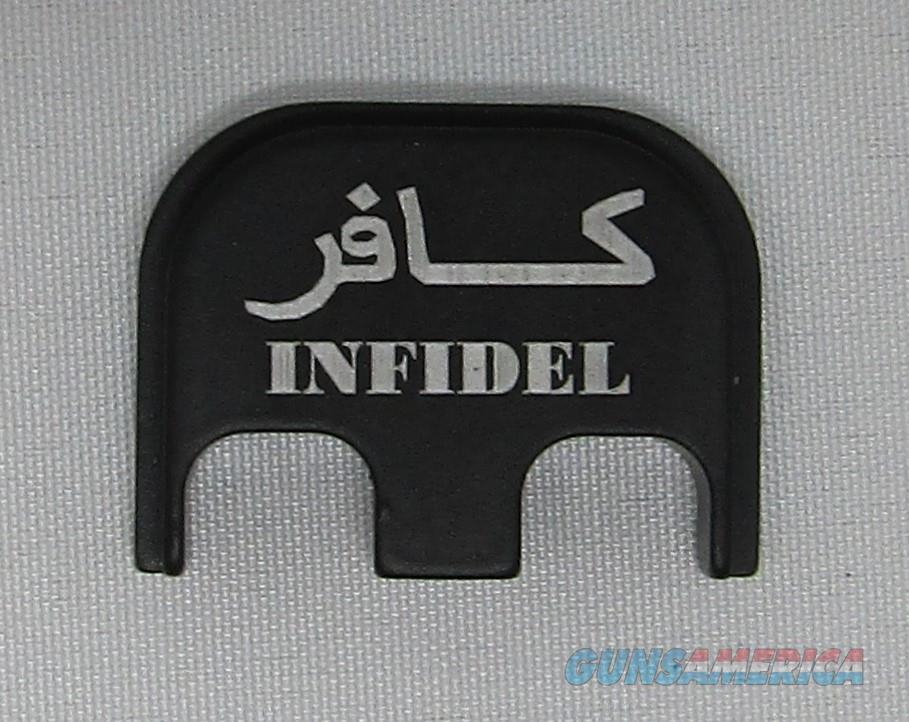 Laser Engraved Glock Back Plate Infidel  Non-Guns > Gun Parts > Misc > Pistols