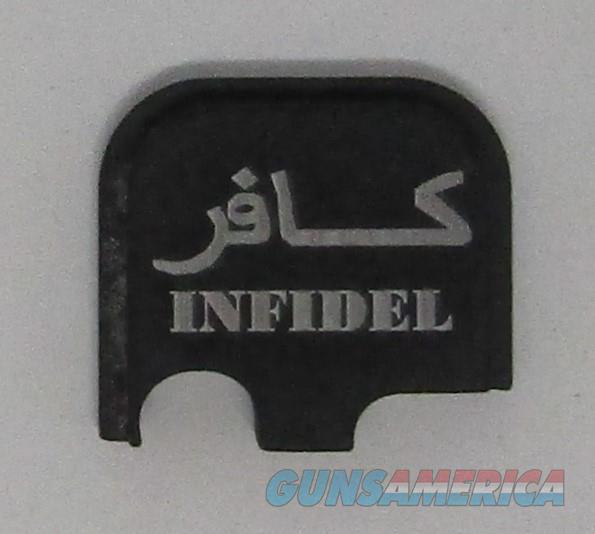 Laser Engraved Glock 43 Slide Plate infidel  Non-Guns > Gun Parts > Misc > Pistols
