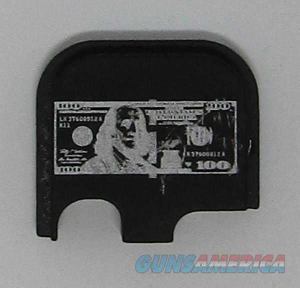 Laser Engraved Glock 43 Slide Plate 100 Dollar Bill  Non-Guns > Gun Parts > Misc > Pistols