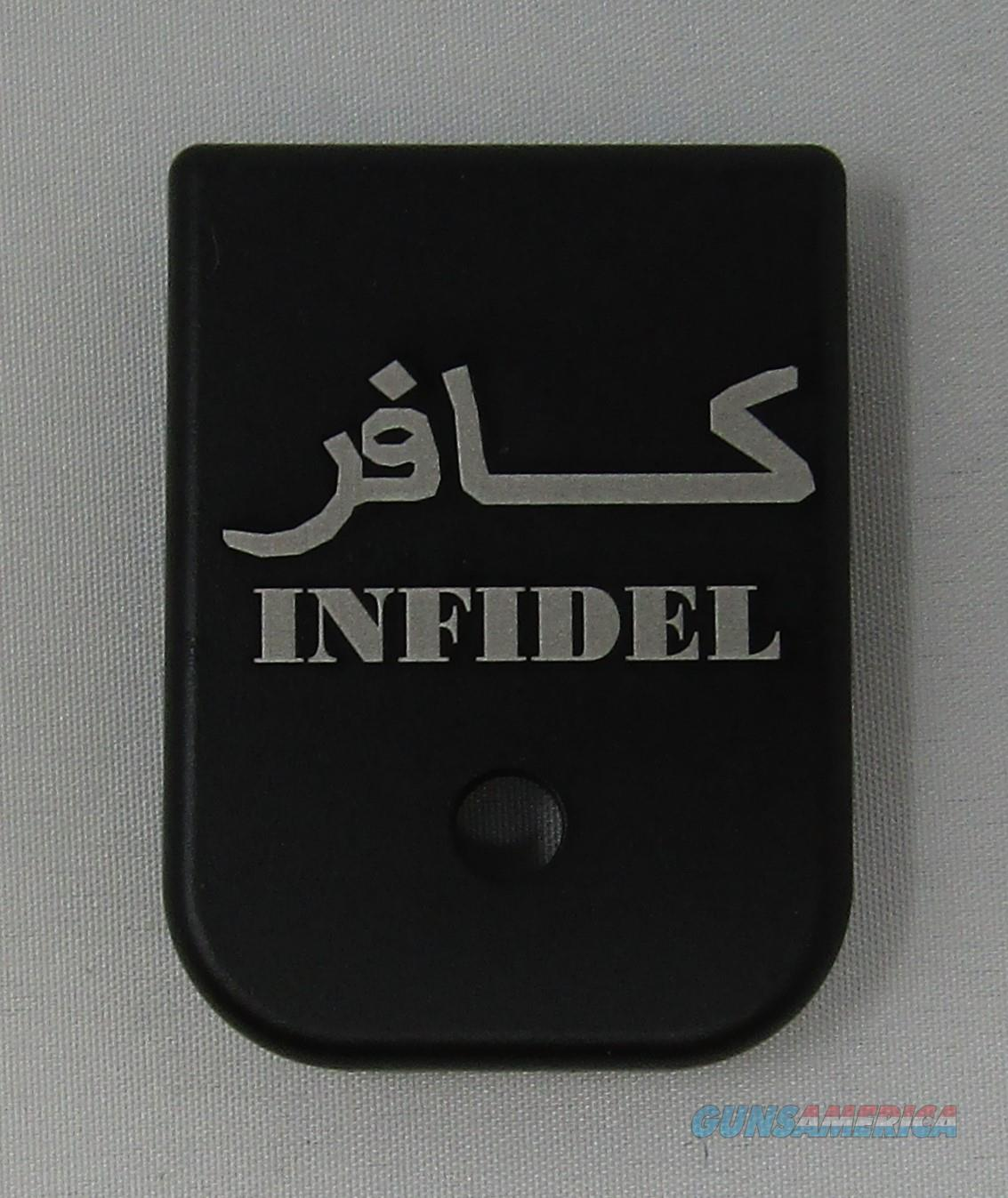 Laser Engraved Glock Magazine Base Infidel  Non-Guns > Gun Parts > Misc > Pistols