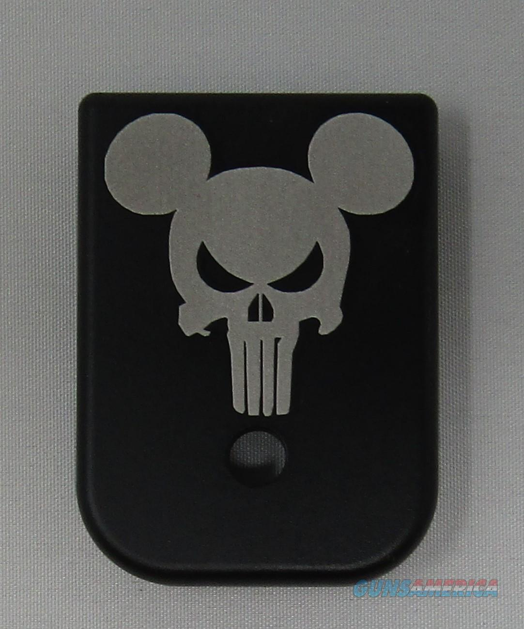 Laser Engraved Glock Magazine Base Punisher Mouse  Non-Guns > Gun Parts > Misc > Pistols
