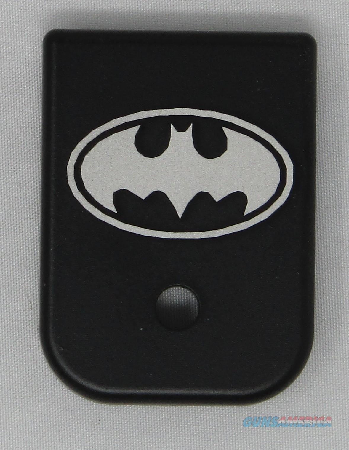 Laser Engraved Glock Mag Base Plate Batman  Non-Guns > Gun Parts > Misc > Pistols