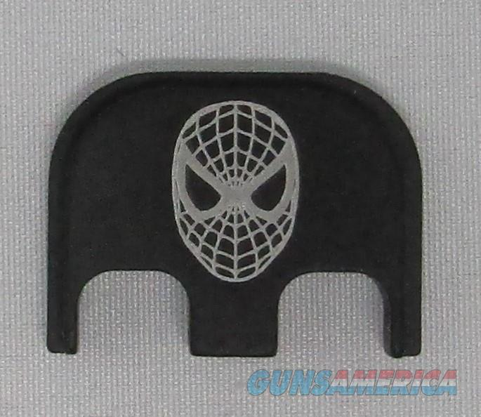 Laser Engraved Glock Full Size Backplate Spiderman  Non-Guns > Gun Parts > Misc > Pistols