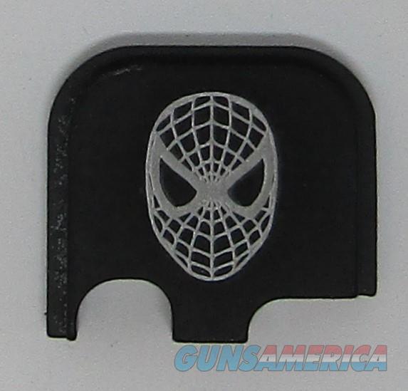 Laser Engraved Glock 43 Slide Plate Spiderman  Non-Guns > Gun Parts > Misc > Pistols