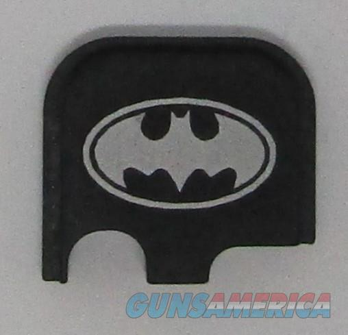 Laser Engraved Glock 43 Slide Plate Batman  Non-Guns > Gun Parts > Misc > Pistols