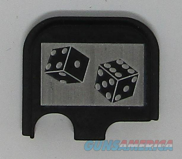 Laser Engraved Glock 43 Slide Plate Dice  Non-Guns > Gun Parts > Misc > Pistols