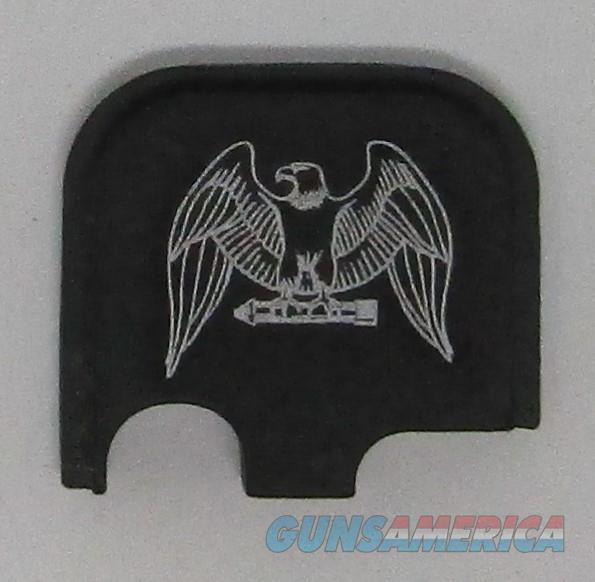 Laser Engraved Glock 43 Slide Plate Eagle   Non-Guns > Gun Parts > Misc > Pistols