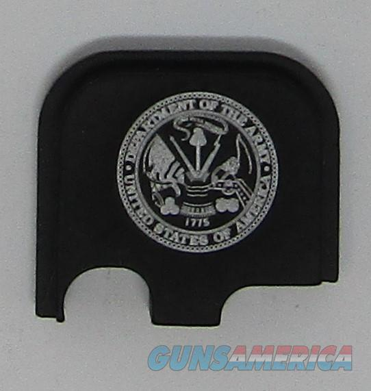 Laser Engraved Glock 43 Slide Plate US Army  Non-Guns > Gun Parts > Misc > Pistols