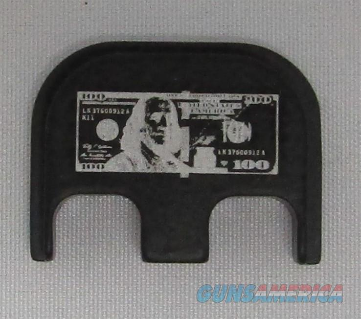 Laser Engraved Glock Back Plate 100 Dollar Bill  Non-Guns > Gun Parts > Misc > Pistols