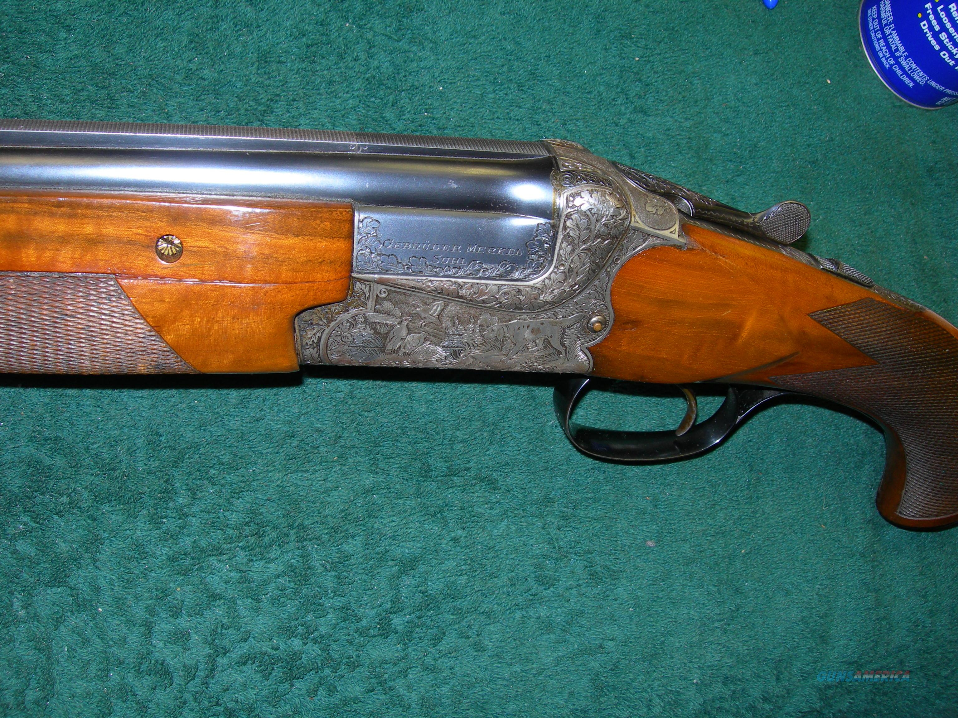 #JC0009: Merkel Pre-War 201E 20ga Special Order Gun; Fabulous Gun,   Guns > Shotguns > Merkel Shotguns
