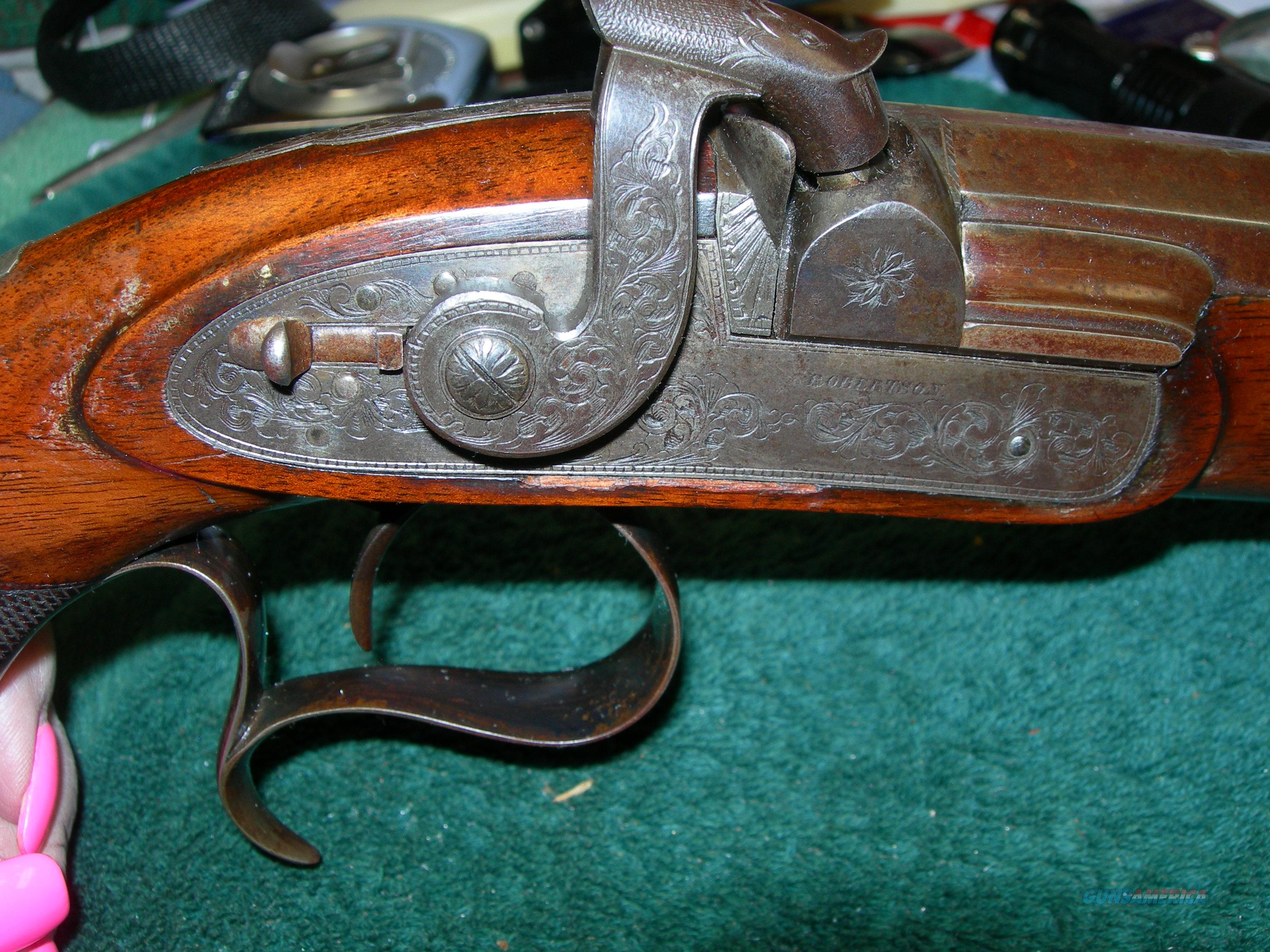 J&M#4: Philadelphia Dueling Pistol Percussion Famous Owner 44cal Great Bore, Fantastic Original Condition,  Guns > Pistols > Antique (Pre-1899) Pistols - Perc. Misc.