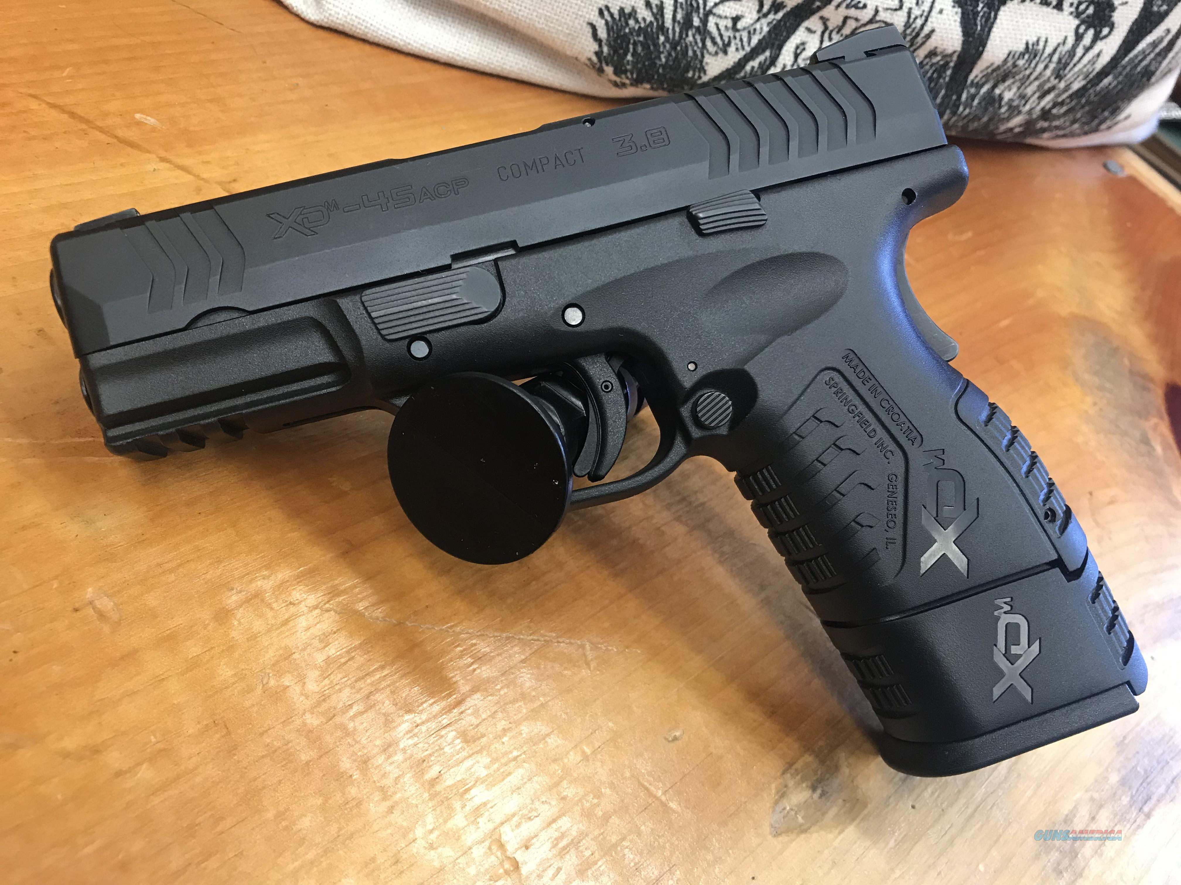 Springfield XDM Compact .45acp 3.8  Guns > Pistols > Springfield Armory Pistols > XD-M