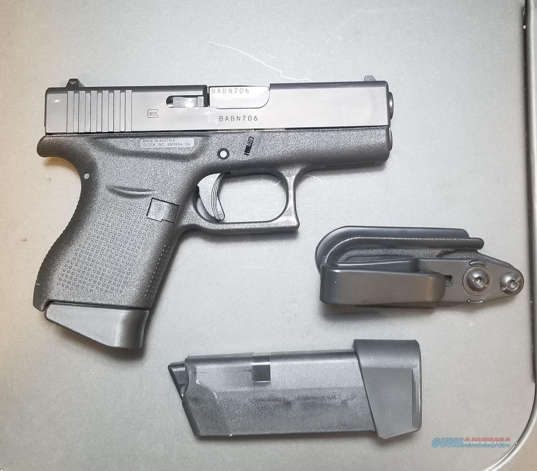 Glock 43  Guns > Pistols > Glock Pistols > 43/43X