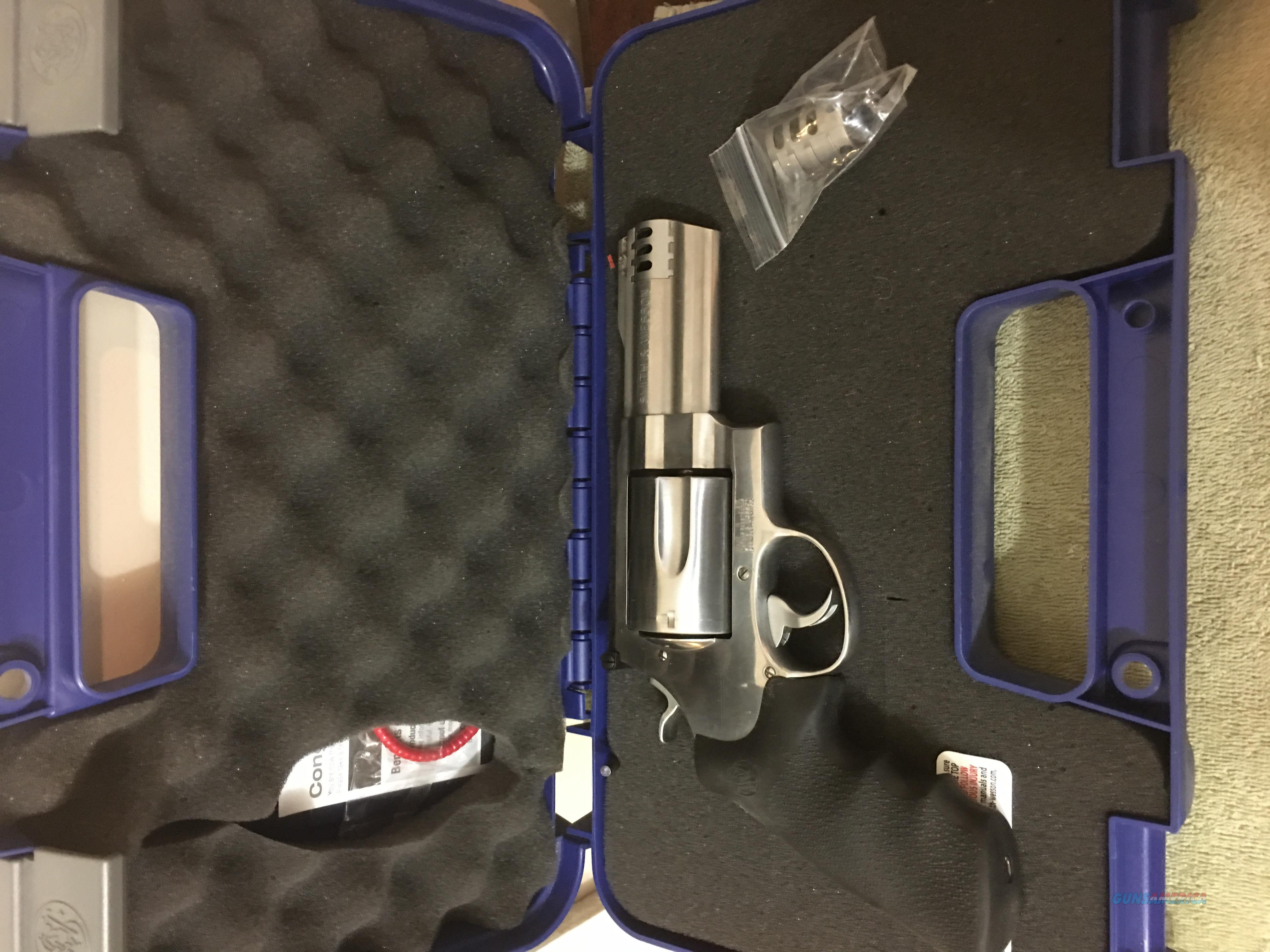 Used Smith & Wesson 500 4 inch   Guns > Pistols > Smith & Wesson Revolvers > Full Frame Revolver