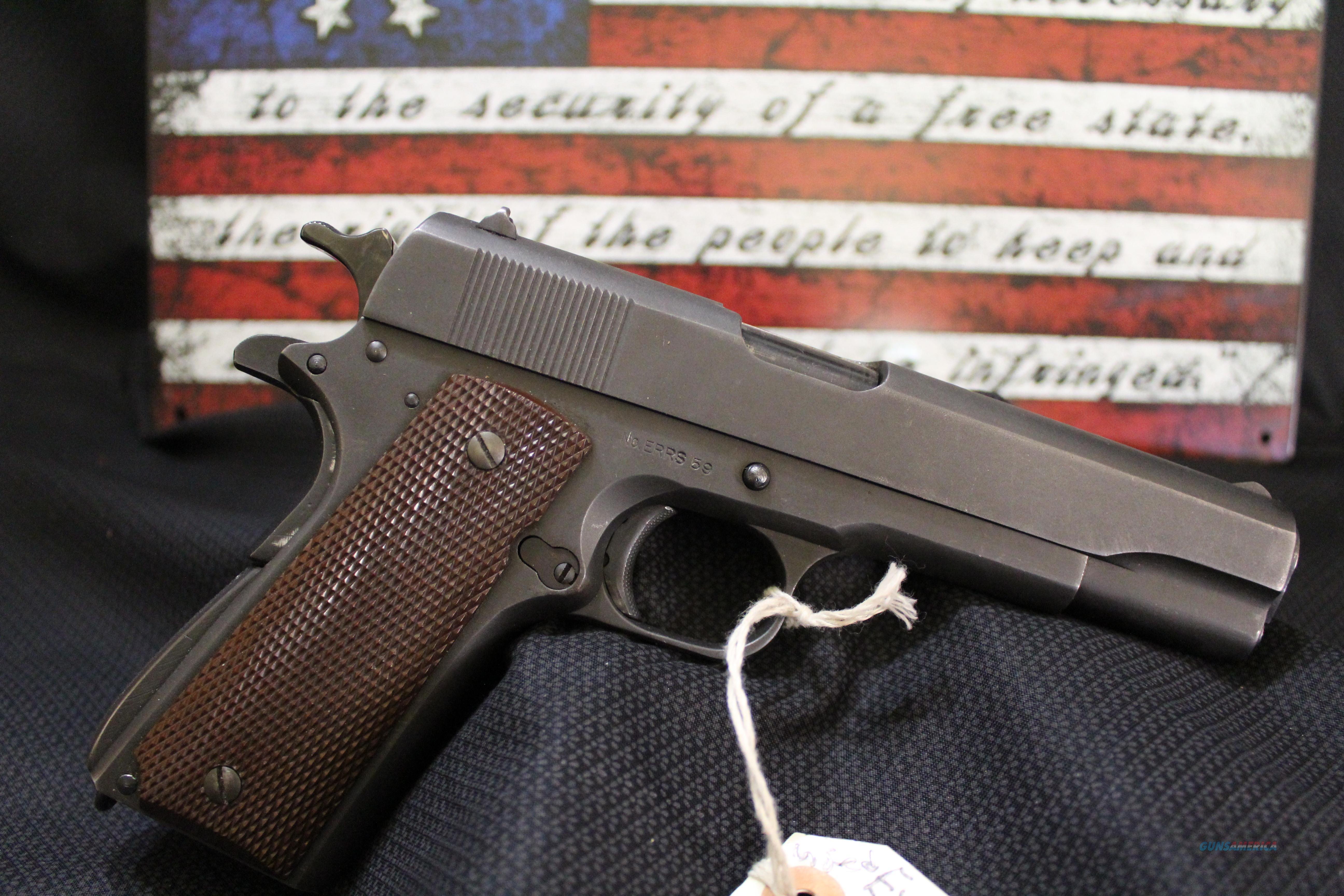 Remington Rand Experimental 1911A1 ERRS Series  Guns > Pistols > Military Misc. Pistols US > 1911 Pattern