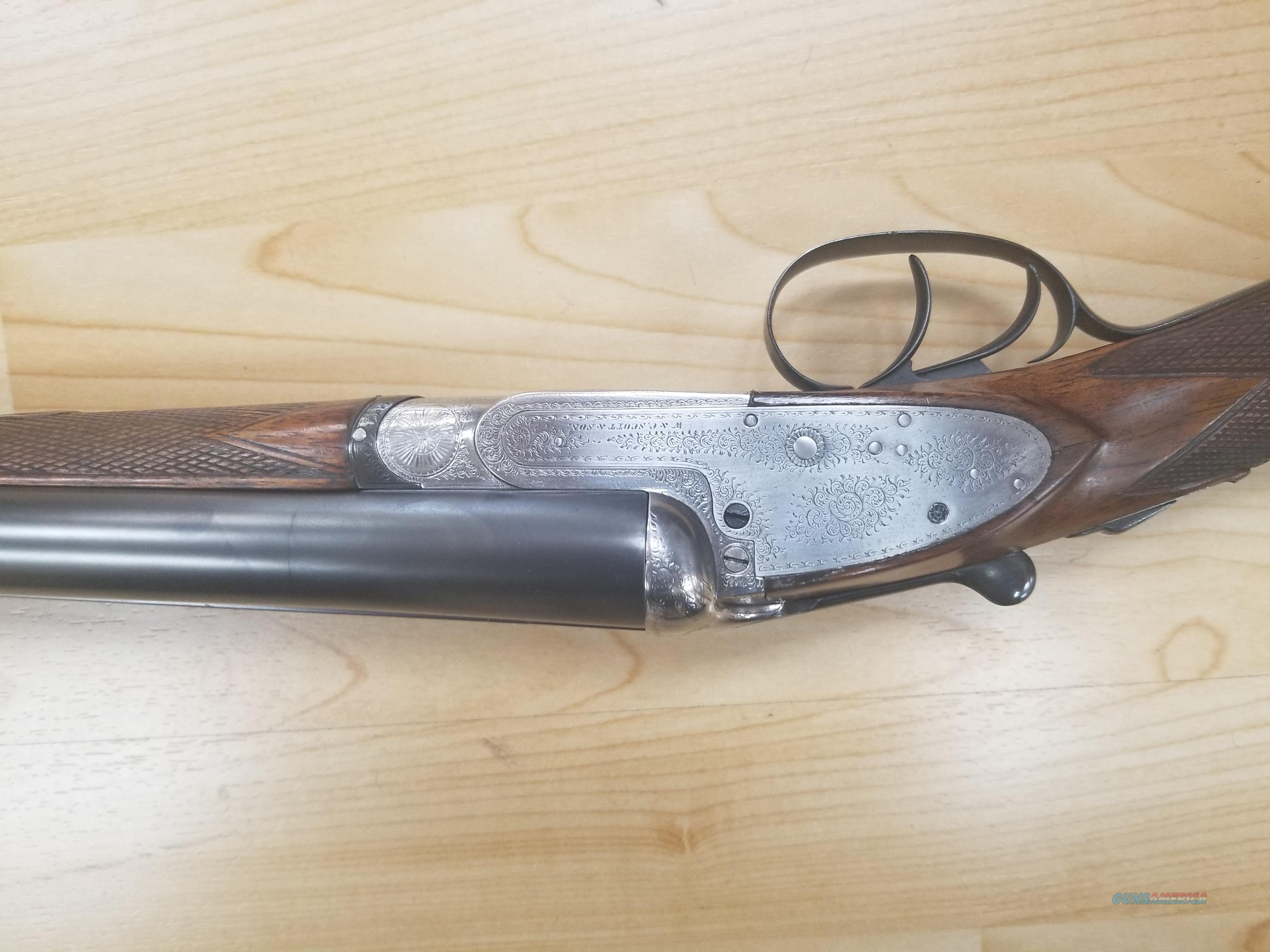 W&C Sott vintage double barrel   Guns > Shotguns > Antique (Pre-1899) Shotguns - Misc.