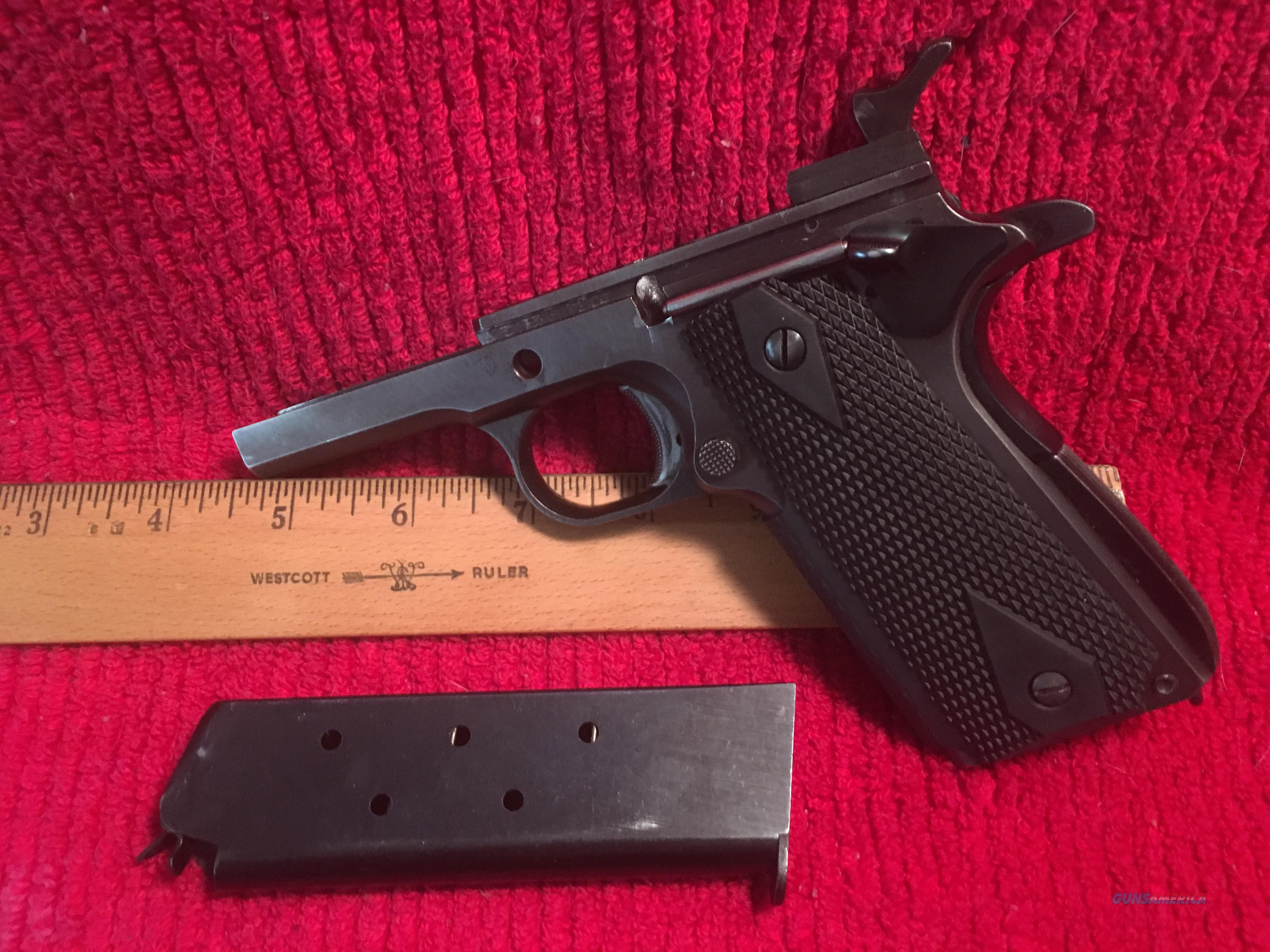 VINTAGE ESSEX 1911 COMPLETE FRAME   Non-Guns > Gun Parts > 1911