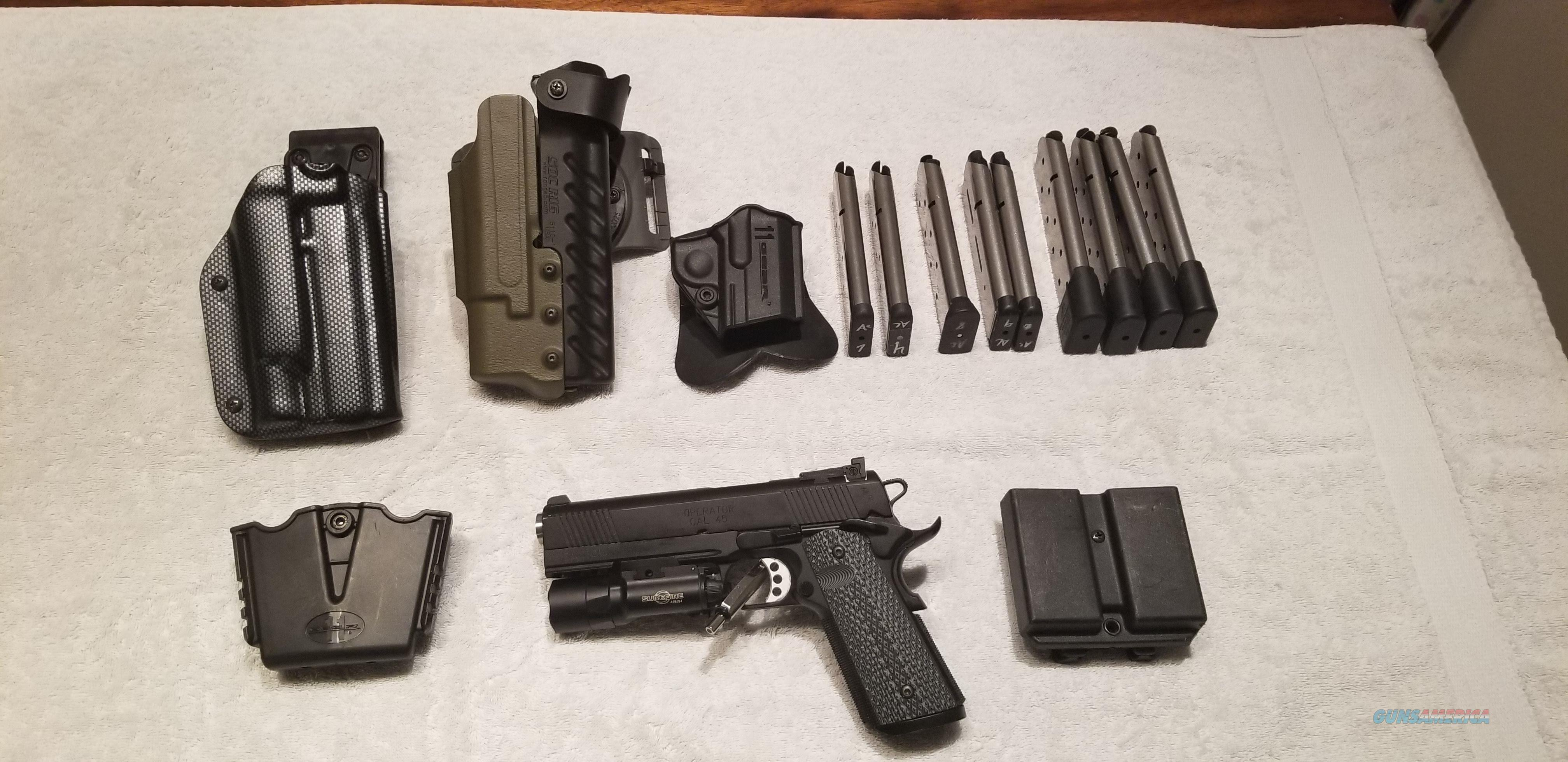 TRP Operator- SureFire x300 - 3 Holsters - 7 Mags  Guns > Pistols > Springfield Armory Pistols > 1911 Type