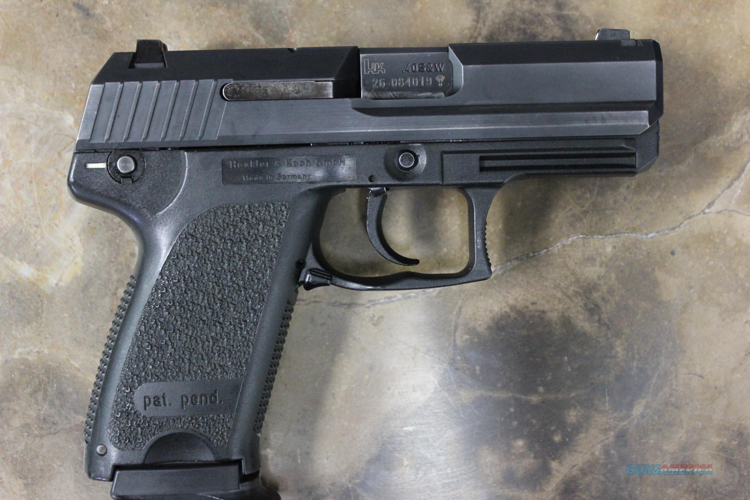 H&K USP Compact .40 S&W w/ 2 Mags  Guns > Pistols > Heckler & Koch Pistols > Polymer Frame
