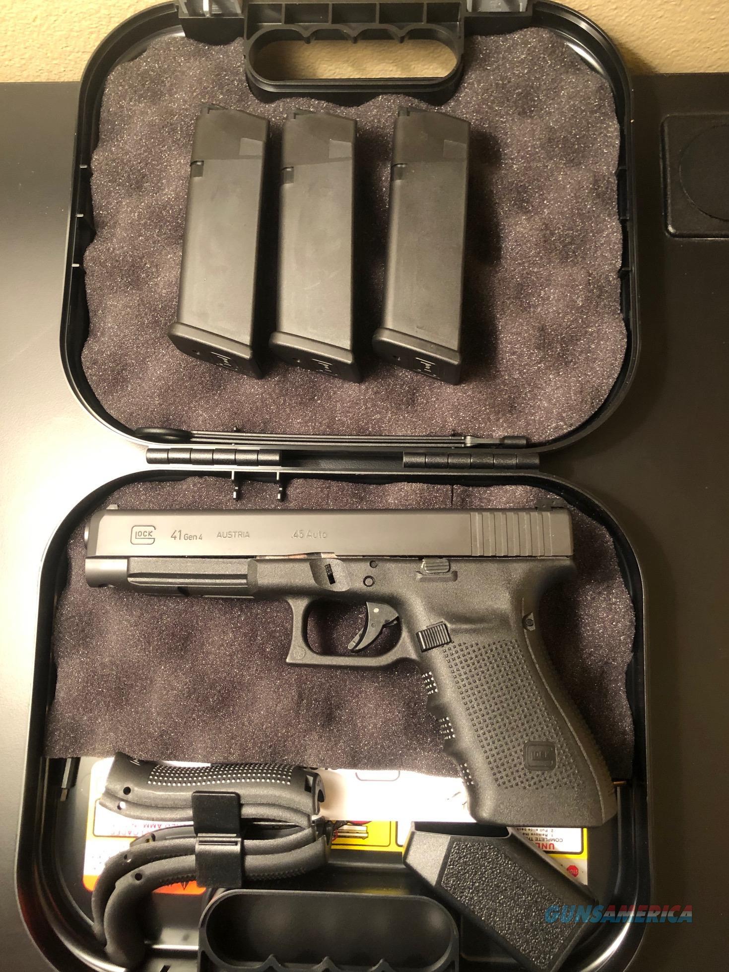 Glock 41 45 ACP  Guns > Pistols > Glock Pistols > 41