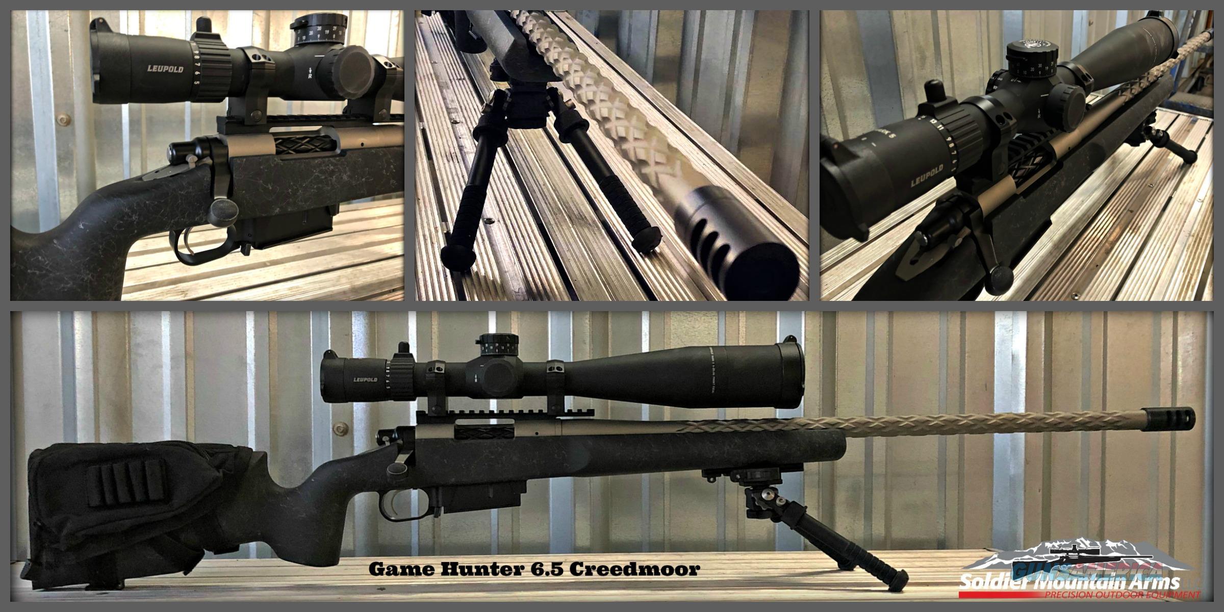 Soldier Mountain Arms LLC Game Hunter 6.5 Creedmoor Package  Guns > Rifles > Custom Rifles > Bolt Action
