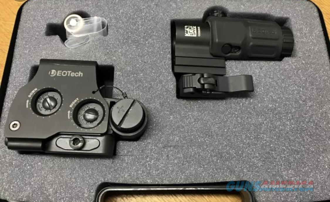 Eotech HHS-II (Red dot + Magnifier) BRAND NEW, never used  Non-Guns > Scopes/Mounts/Rings & Optics > Tactical Scopes > Red Dot