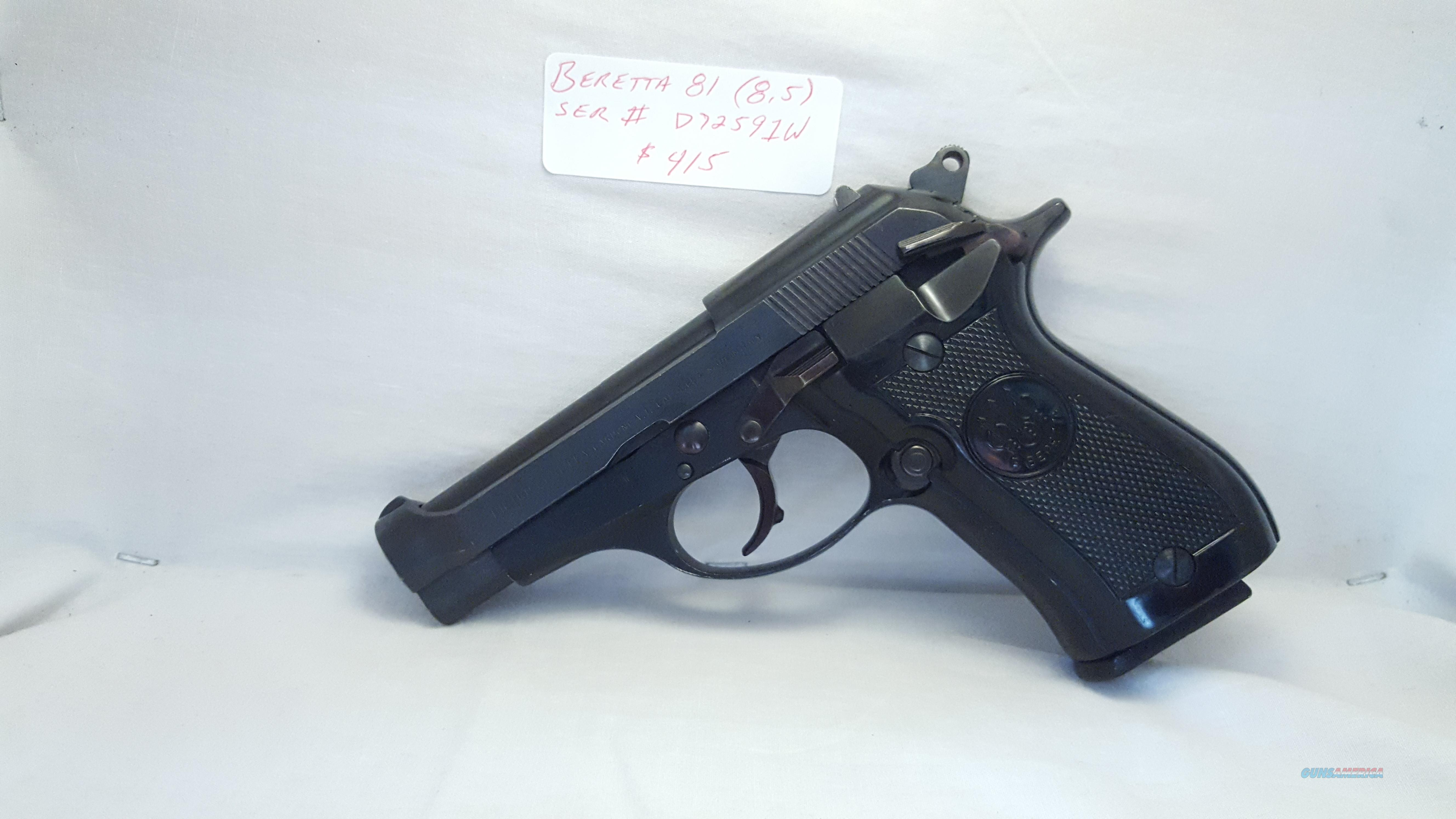 Beretta 81 $380 Free Shipping! No CC Fees! Cheetah  Guns > Pistols > Beretta Pistols > Cheetah Series > Model 81