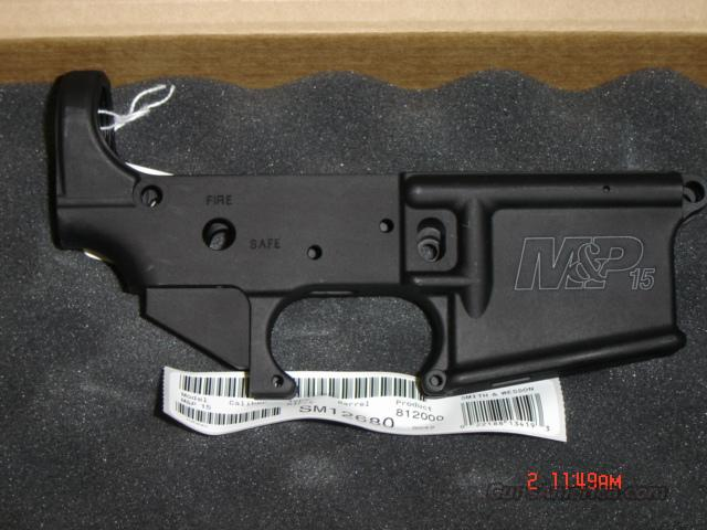 SMITH & WESSON M&P STRIPPED LOWER  Guns > Rifles > Smith & Wesson Rifles > M&P