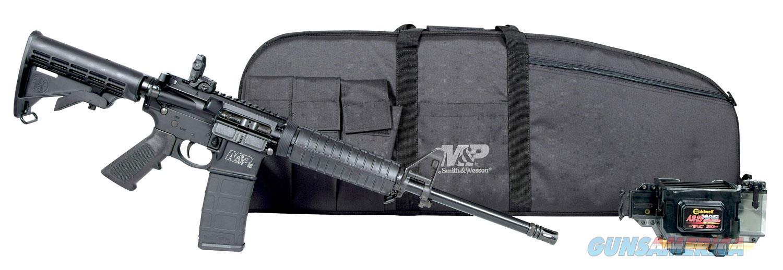 "Smith & Wesson M&P 15 Sport II Promo Kit Sport II Semi-Auto 223/5.56 NATO 16""   Guns > Rifles > Smith & Wesson Rifles > M&P"