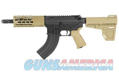 "Diamondback  DB15 AR Pistol Semi-Automatic 7.62X39mm 7"" 28+1 Polymer Flat Dark Earth Cerakote/Black Nitride *FREE LAYAWAY*  Guns > Pistols > Diamondback Pistols"