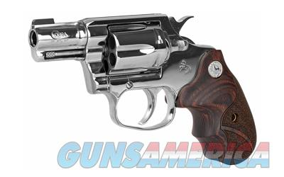 FREE 10 MONTH LAYAWAY Colt Bright Cobra 38 Special Stainless Steel, Wood Grips  Guns > Pistols > Colt Double Action Revolvers- Modern