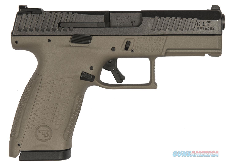FREE 10 MONTH LAYAWAY CZ P-10 Compact 9mm FDE Black Slide  Guns > Pistols > CZ Pistols