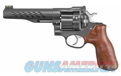 "Ruger Super GP100 Revolver Double 357 Magnum 5.5"" 8 Rd Hogue Hardwood Grip Black PVD Stainless Steel  Guns > Pistols > Ruger Double Action Revolver > GP100"