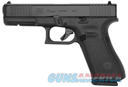 "Glock G17 Gen5 with AmeriGlo Sight 9mm 4.49"" 17+1 FREE LAYAWAY  Guns > Pistols > Glock Pistols > 17"