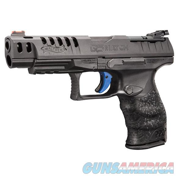 FREE 10 MONTH LAYAWAY Walther Arms Q5 Match 9mm Luger Black  Guns > Pistols > Walther Pistols > Post WWII > P99/PPQ