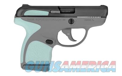 Taurus Spectrum 380 ACP Gray Polymer Frame Mint Synthetic Grip Black Carbon Steel Slide  Guns > Pistols > Taurus Pistols > Semi Auto Pistols > Polymer Frame