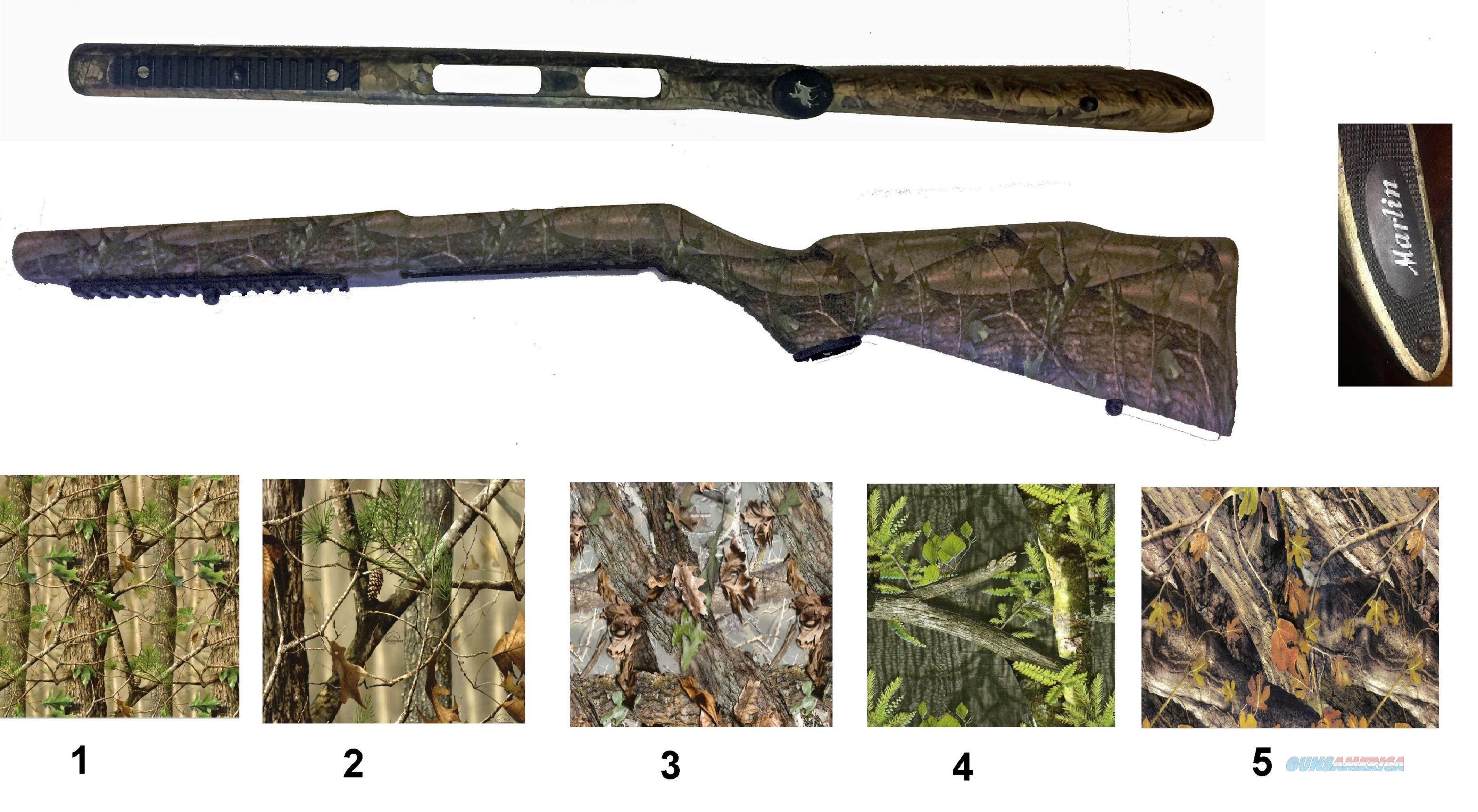 Custom Hydro Dipped Marlin 795 Stocks  Non-Guns > Gunstocks, Grips & Wood
