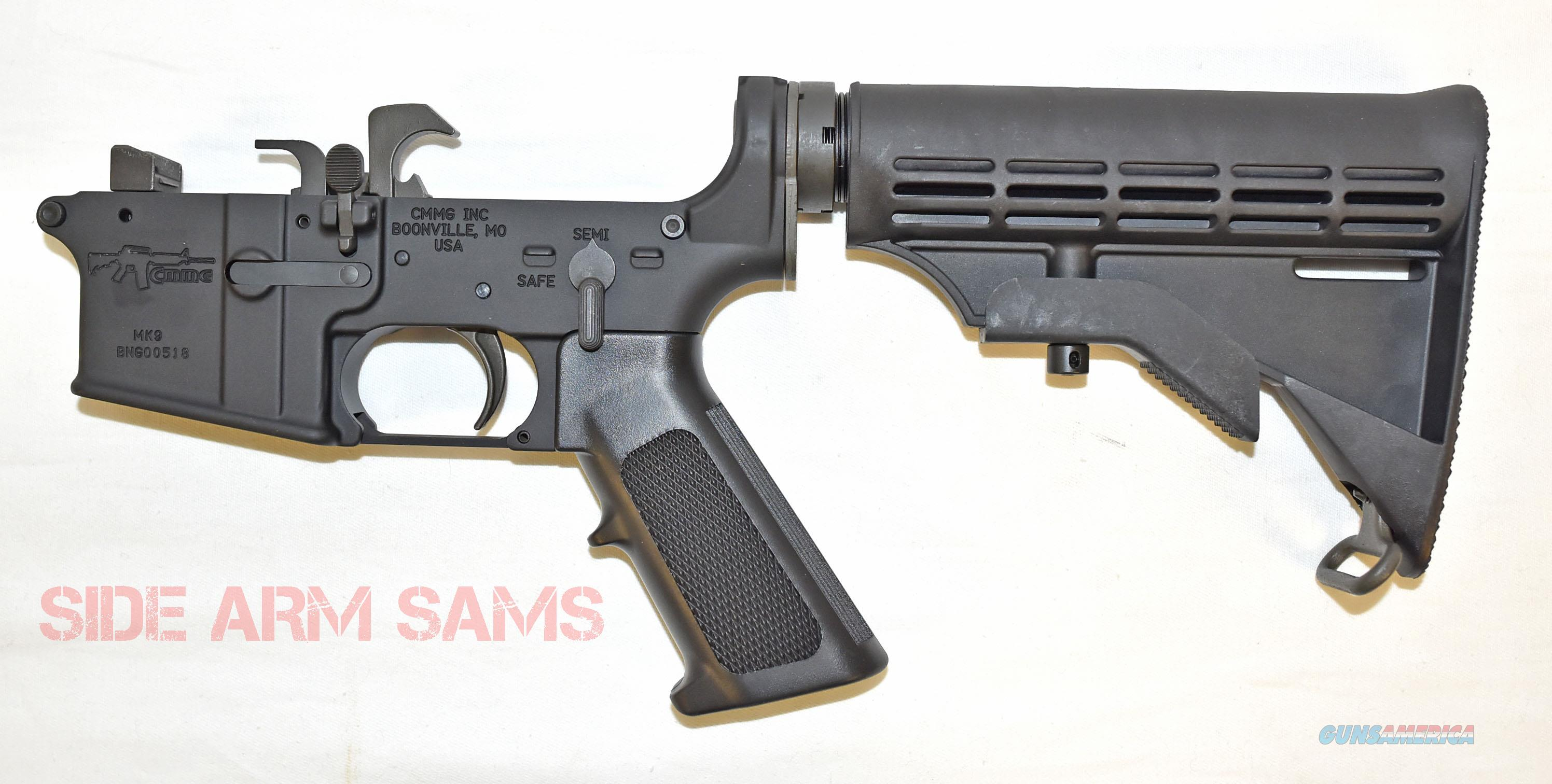 NIB CMMG Mk9 9mm Complete M4 Ambi Lower Receiver  Guns > Rifles > CMMG > CMMG Rifle