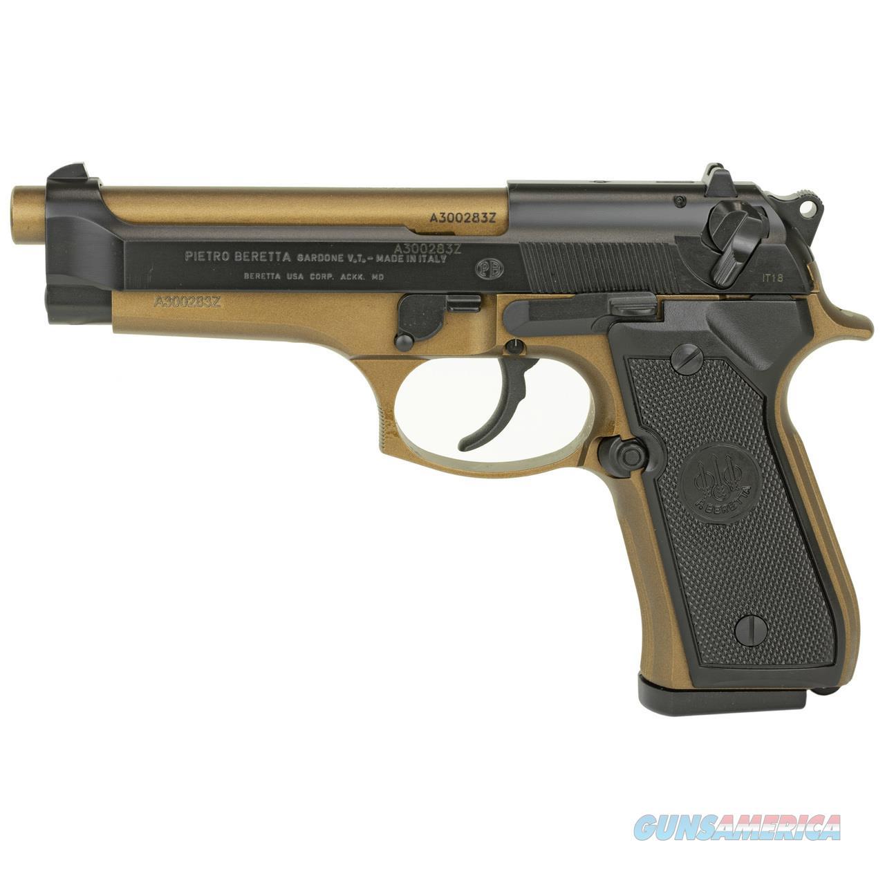 """NIB BERETTA 92FS """"BRONZE"""" 9MM SEMI-AUTO PISTOL  Guns > Pistols > Beretta Pistols > Model 92 Series"""