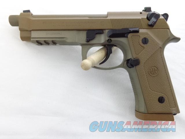 NIB BERETTA M9A3, FACTORY THREADED BARREL, RAIL GUN,9MM,FDE  Guns > Pistols > Beretta Pistols > M9